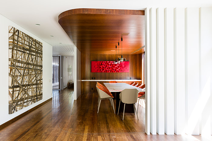 AA House dinning area by Pascali Semerdjian Architects