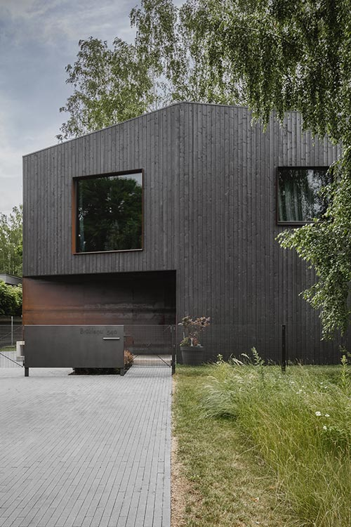 Architects' House by Open AD - located in Riga, Latvia