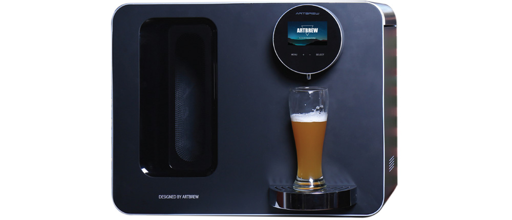 Artbrew - automated beer making machine for your smart home's kitchen