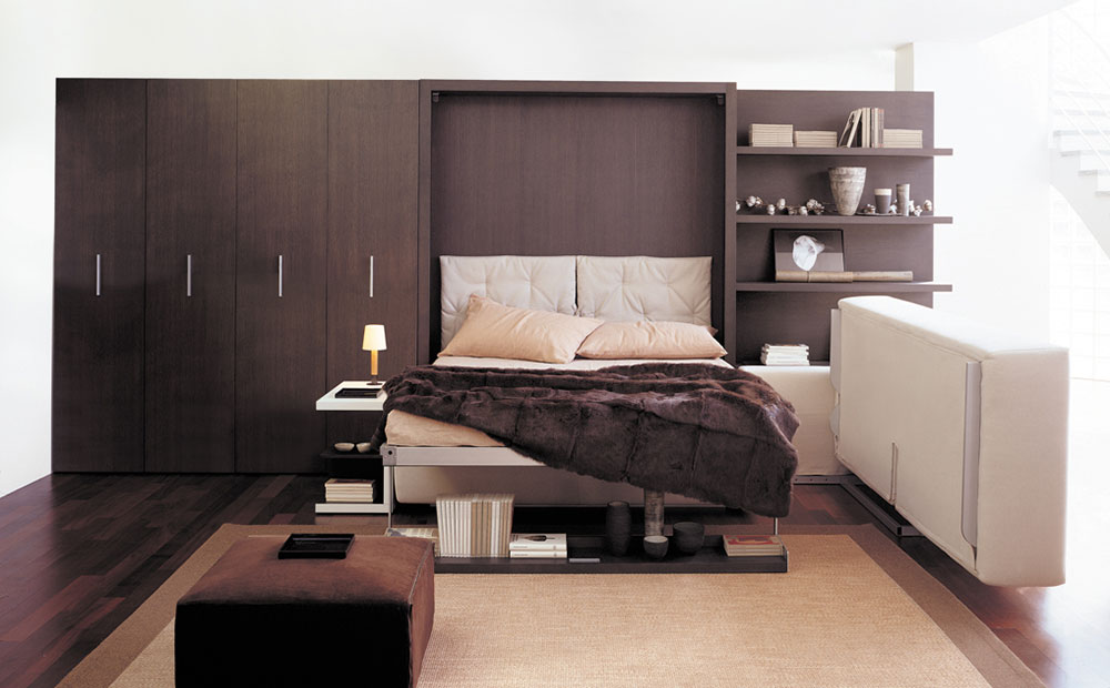 Atoll murphy bed system by clei