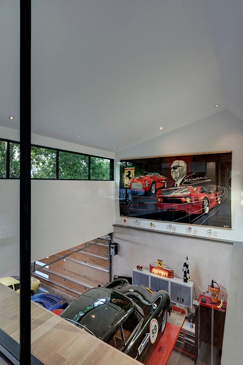 Autohaus - an unconventional home located in Austin, Texas