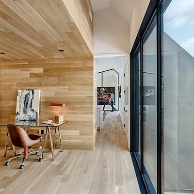 Unconventional residence in Austin, Texas designed by Matt Fajkus Architecture