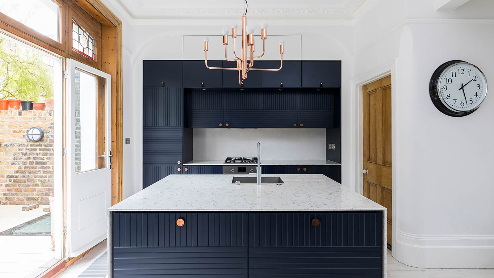 Barons Court basement extension by Rees Architects