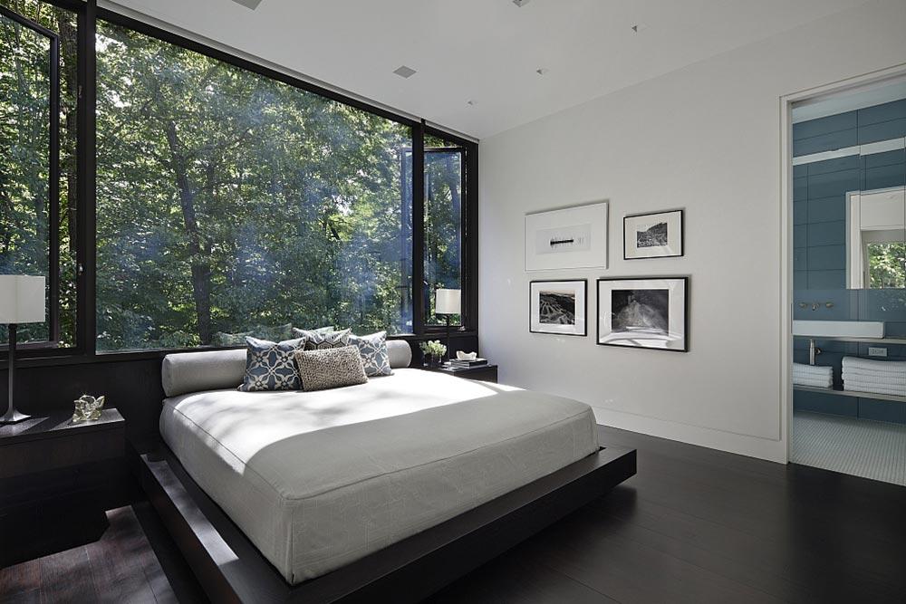 Hang beautiful art to make your bedroom look expensive