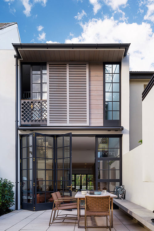 Bougainvillea Row House in Sydney, Australia by Luigi Rosselli