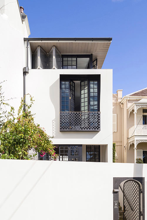 Stylish terraced house in Sydney for a young family