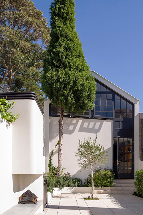 Australian terraced house for a young family