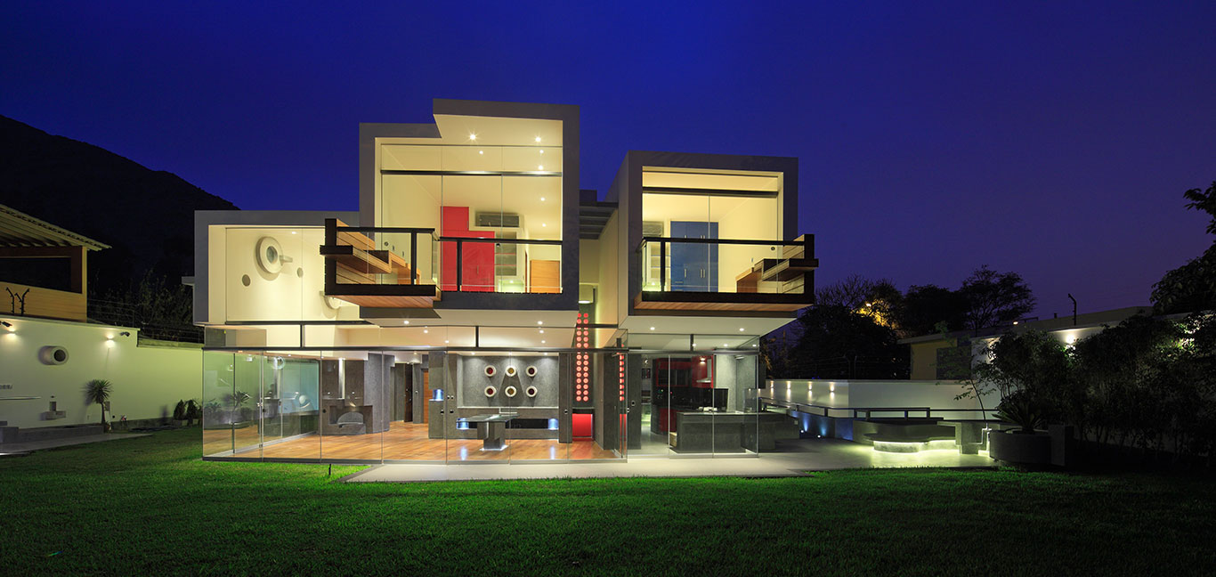 Breathtaking house by Longhi Architects - luxurious home in Peru