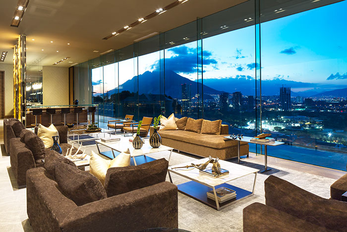 Breathtaking MT House by GLR arquitectos with stunning views of Monterrey, Mexico