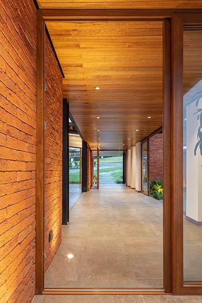 Casa AO by Studio Alfa located in Ecuador - hallway