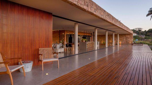 Casa Das Pedras by mf+arquitetos in Brazil