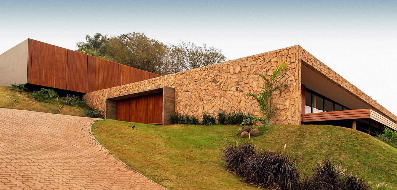 Casa Das Pedras - beautiful Brazilian House by mf+arquitetos with amazing mountain views