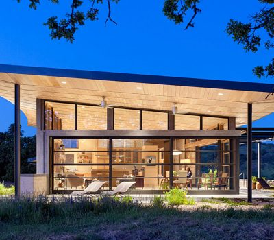 Caterpillar House: Sustainable, LEED certified contemporary ranch home in Carmel, California