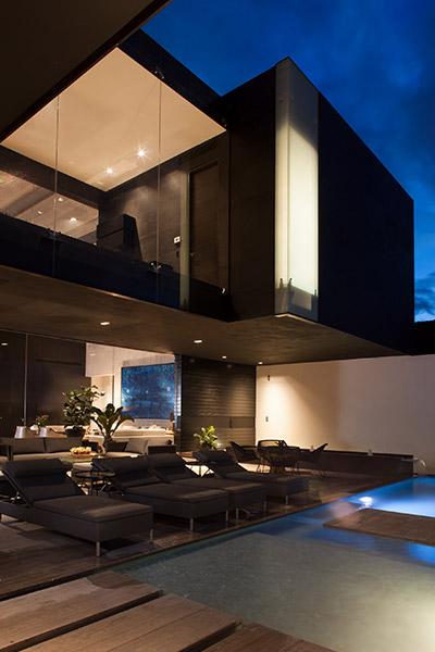 CH House by GLR arquitectos contemporary home exterior Mexico
