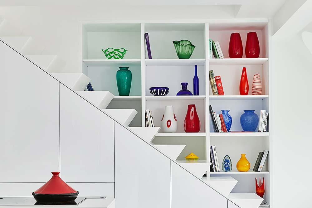 Colorful accessories - living room decor idea