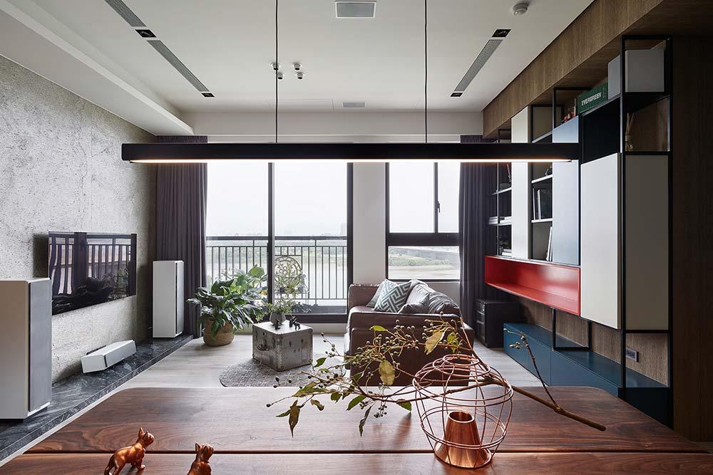 Colorful furniture - living room decor idea