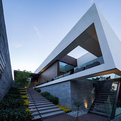 Contemporary architecture at its best: breathtaking MT house in Mexico by GLR arquitectos