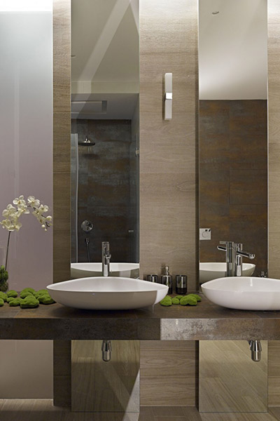 Contemporary bathroom design by Alexandra Fedorova