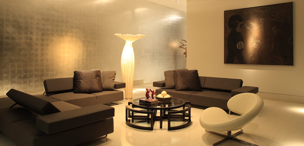 Contemporary living room in Monterrey Mexico