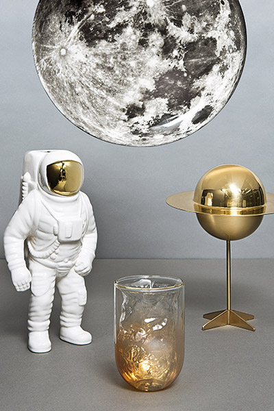 Cosmic Diner Collection - adorable dinnerware set by Diesel Living and Seletti
