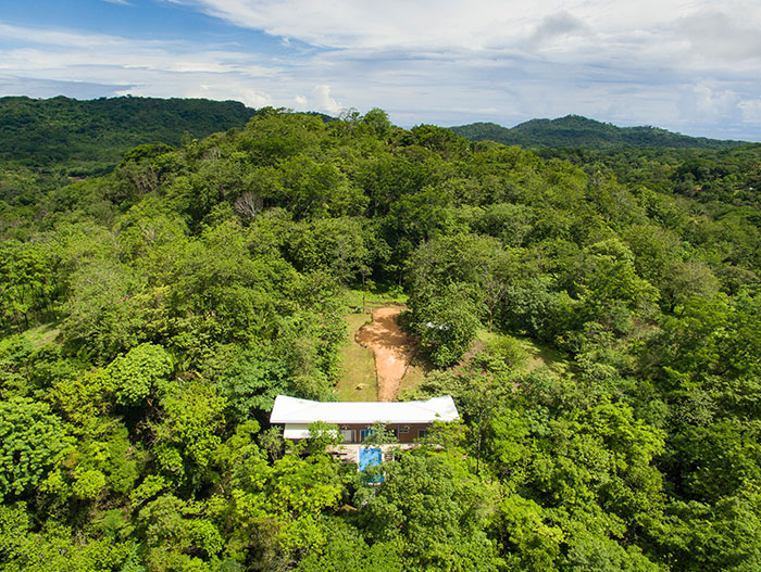 Casa Gaviota : Amazing suspended house with spectacular pool in Costa Rica offers privacy to the owners and blends with the dense forest - by Indigo Arquitectura