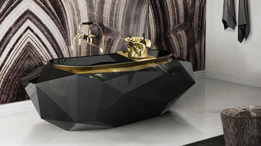 Diamond unique bathtub by Maison Valentina