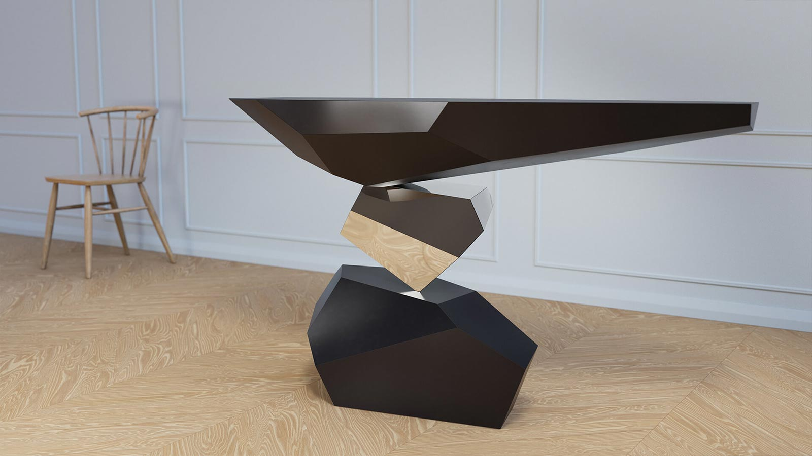 Serenity console table by Duffy London