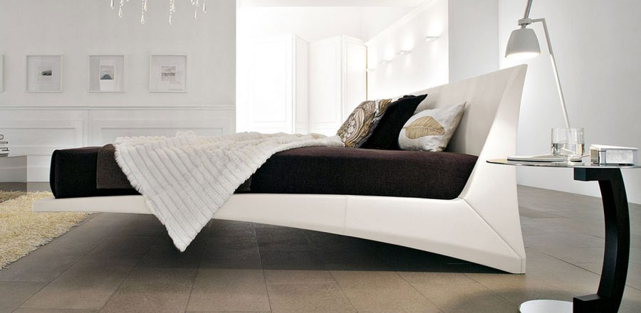 Dylan Leather Bed By Cattelan Italia