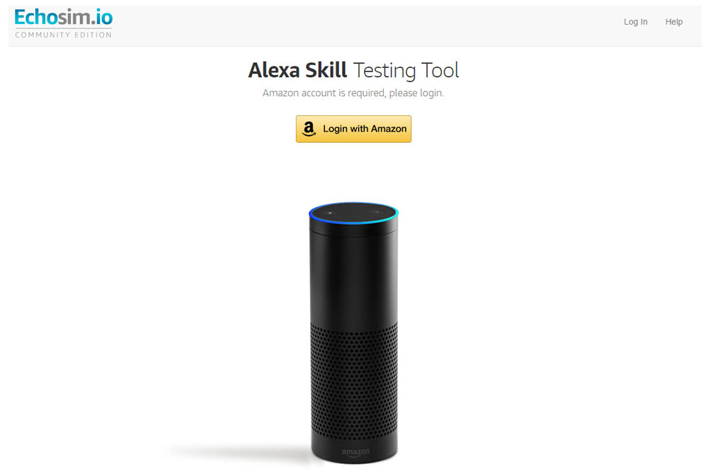 Echosim.io bring Amazon Alexa / Amazon Echo in your browser