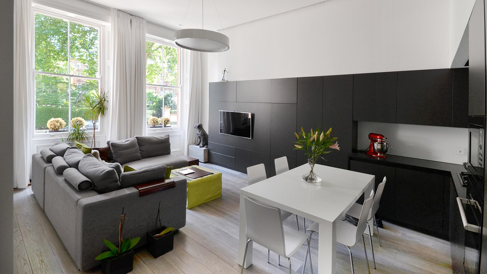 An Edwardian home in London, UK gets a complete renovation to suit the needs of a young family
