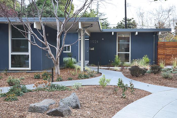 Eichler home in Palo Alto Remodel Silicon Valley