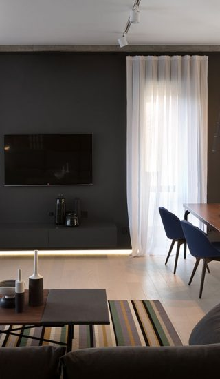 Elegant, minimalist apartment in Dnepropetrovsk, Ukraine by NOTT Design