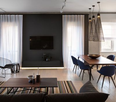 Elegant, minimalist apartment in Dnepropetrovsk, Ukraine by NOTT Design