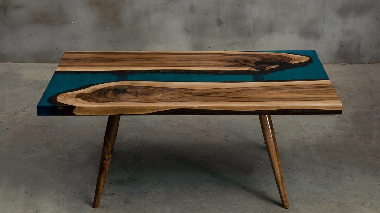 Epoxy resin river tables for sale