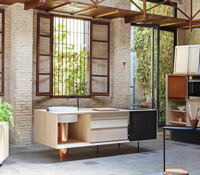 Float Modular Kitchen by MUT Design
