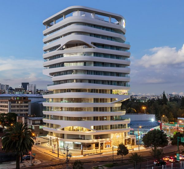 GAIA building by Leppanen + Anker Architects: Contemporary landmark in Quito, Ecuador