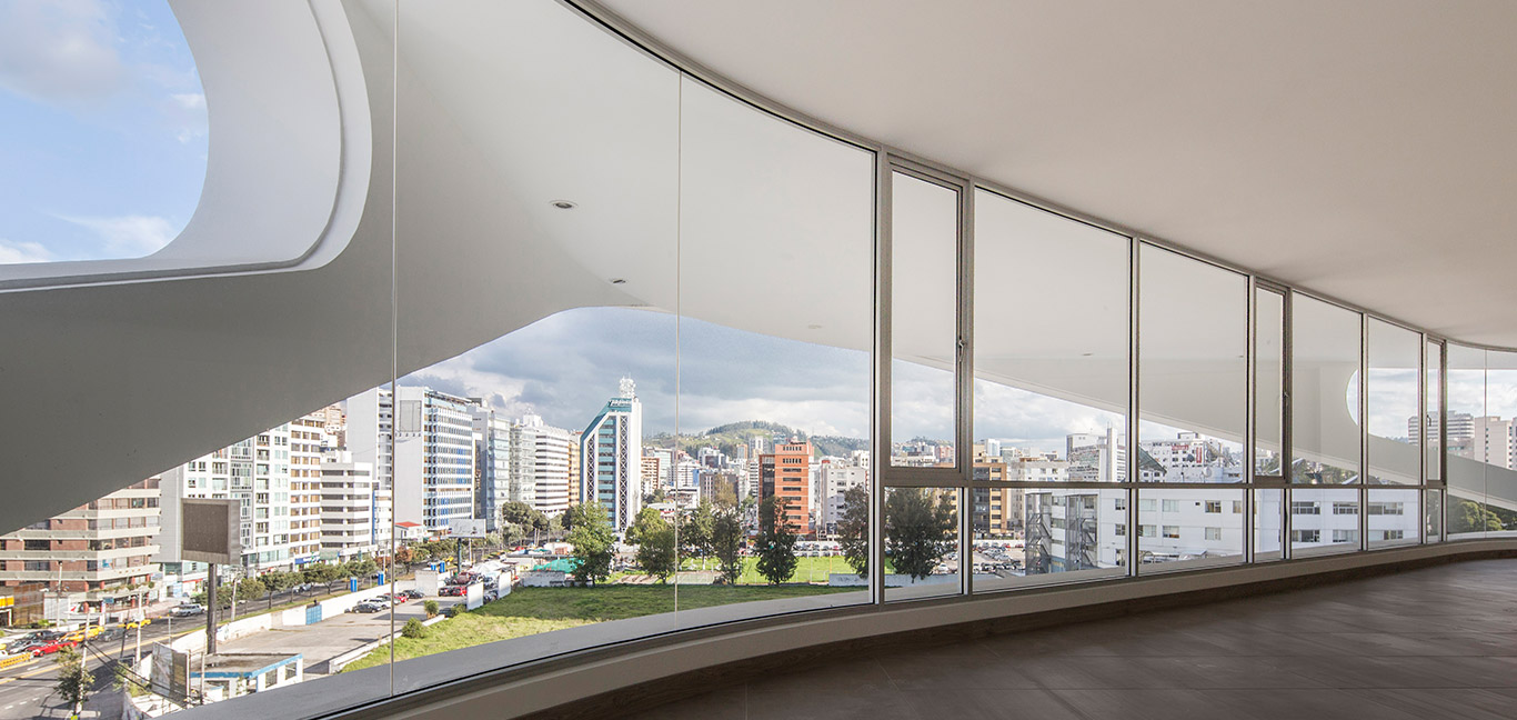 GAIA - Contemporary building with amazing views of Quito by Leppanen + Anker Architects