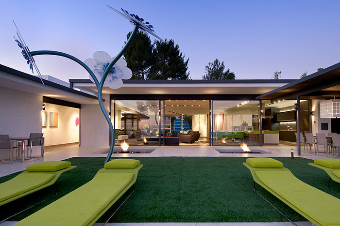 Hopen place contemporary celebrity home