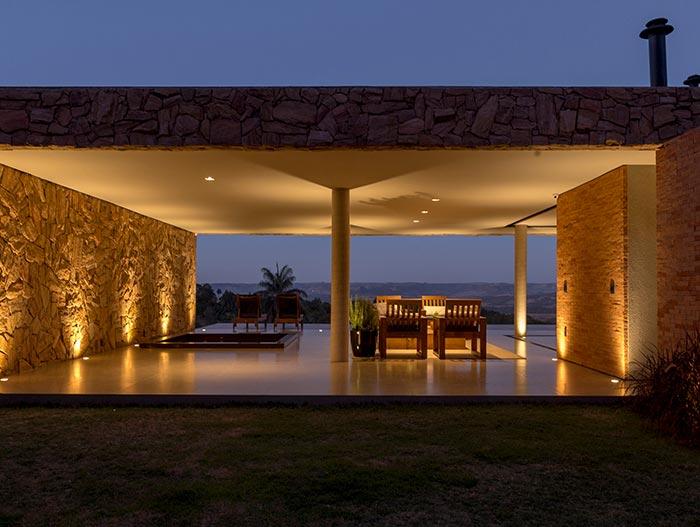 House of Stones in Franca, Brazil