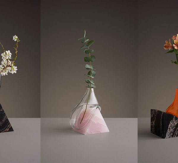 These abstract vases look like they've been taken straight out of a Salvador Dali painting