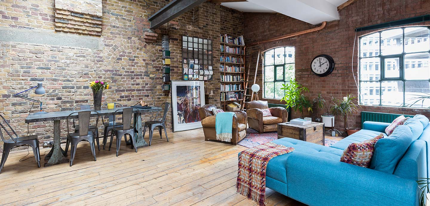 Industrial penthouse located in Shoreditch, London renovated by houseUP