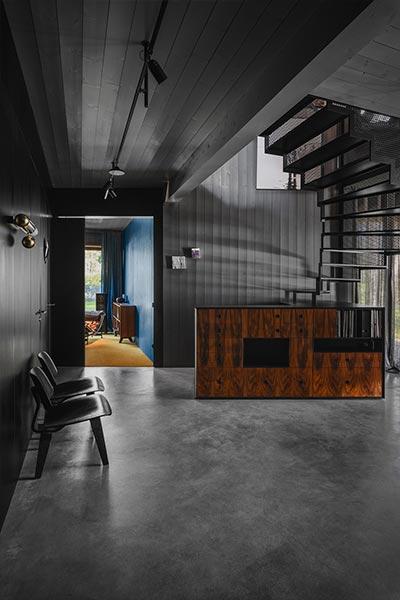 Modern timber house in Riga, Latvia designed by Open AD - interior design idea