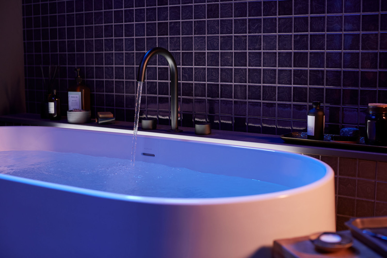 Kohler's Stillness Bath: a $16,000 Infinity Experience soaking tub inspired by Japanese forest bathing