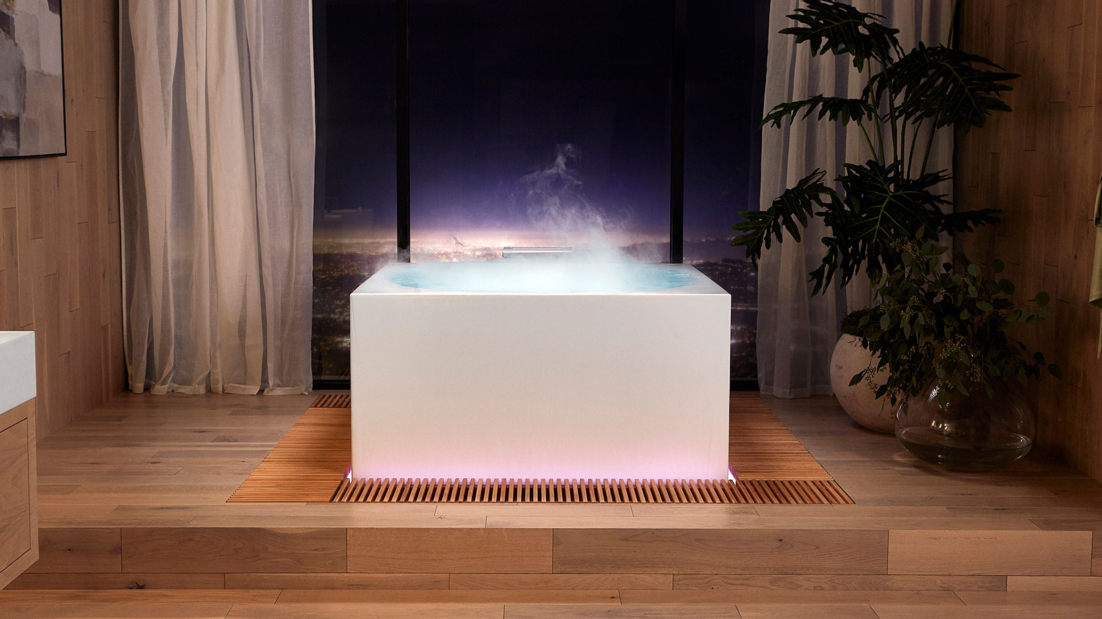 Kohler expands its smart home line with a $16,000 Infinity Experience smart soaking tub
