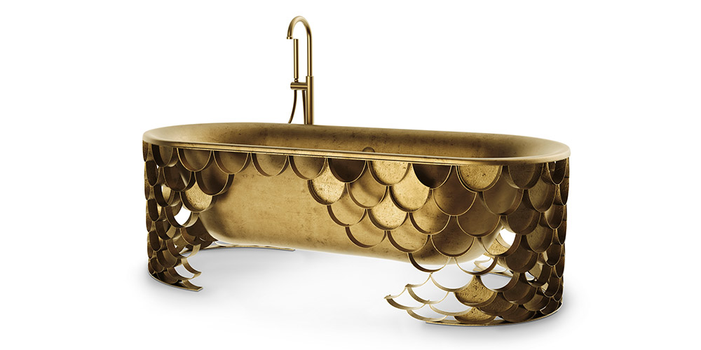 Koi unique bathtub by Maison Valentina