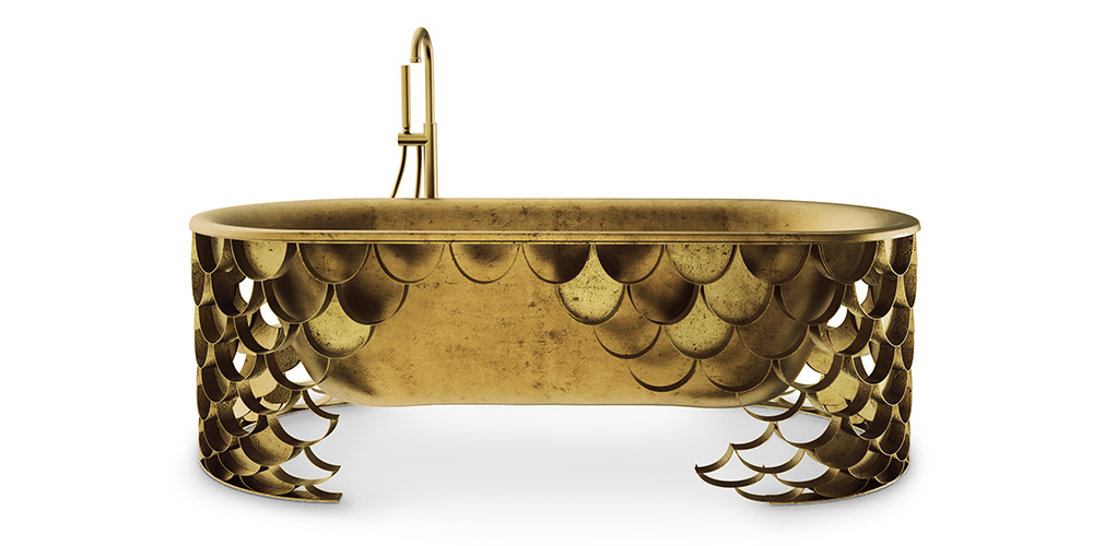 Koi unusual bathtub by Maison Valentina