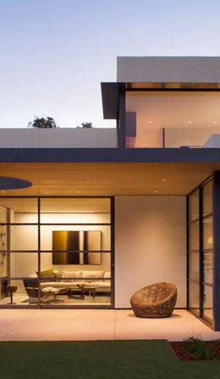Lantern House by Feldman Architecture lights up the entire Palo Alto, California neighborhood