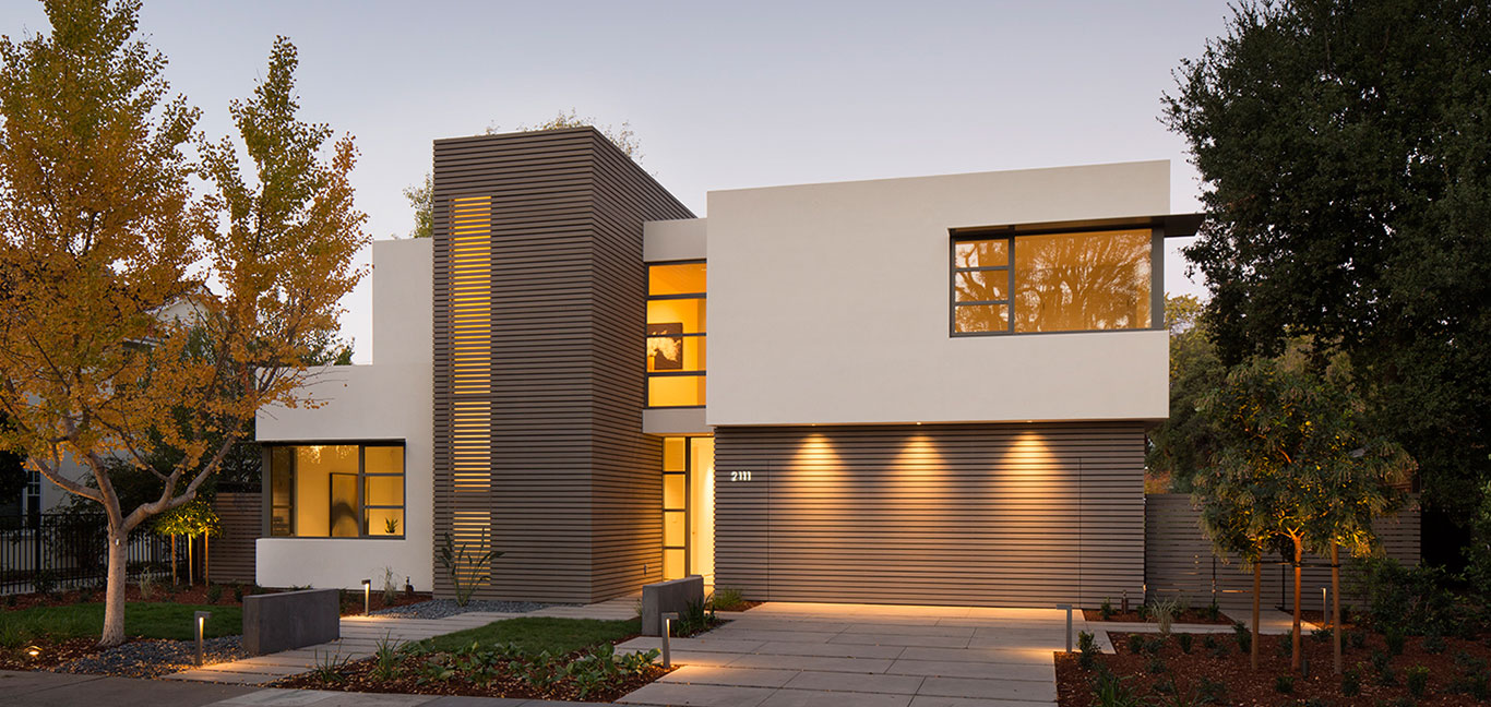 Modern Californian home in Palo Alto : Lantern House by Feldman Architecture