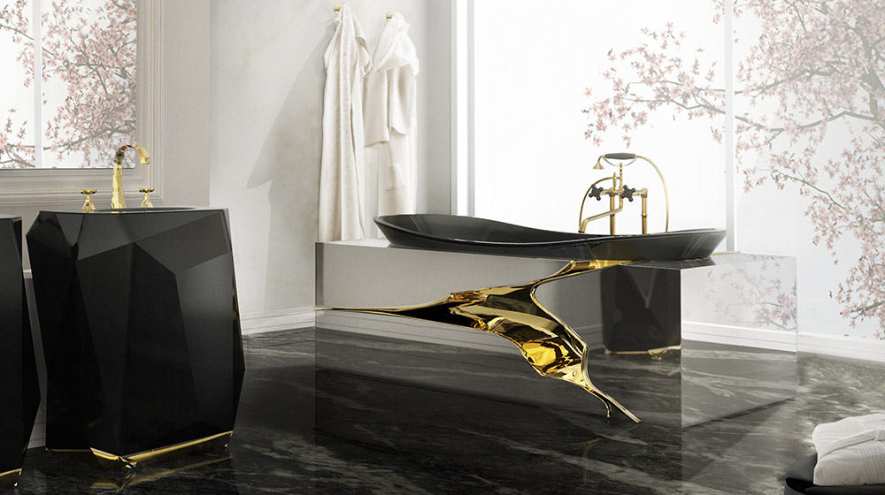 Lapiaz unique bathtub by maison valentina
