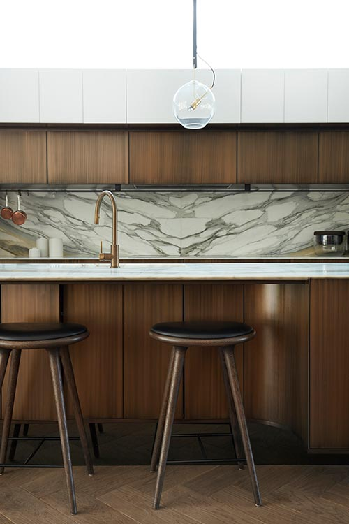 Peppertree Villa by Luigi Rosselli Architects located in Bellevue Hill, Sydney, Australia - modern kitchen design